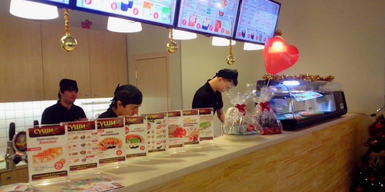 Бизнес по доставке суши и роллов
